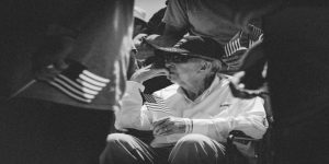 picture of an elderly veteran