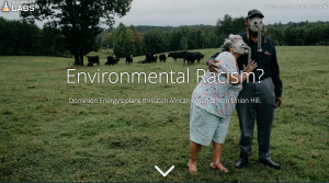 Story Map for Environmental Racism