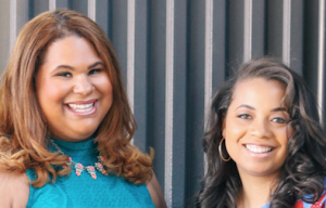 A photo of Genny and Ashley, founders of The Blue Institute