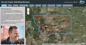Jon Tester story map