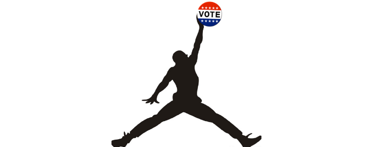 NBA supports voting. A slam dunk!