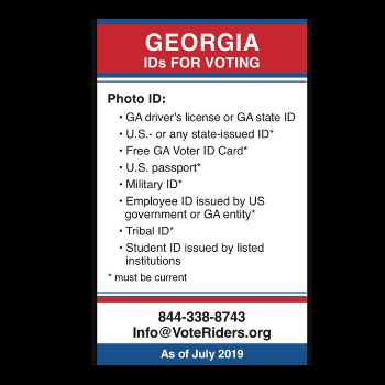 VoteRiders provides voter ID education and assistance to all eligible voters. They equip voters with what they need to vote with confidence, knowing they cannot be turned away.