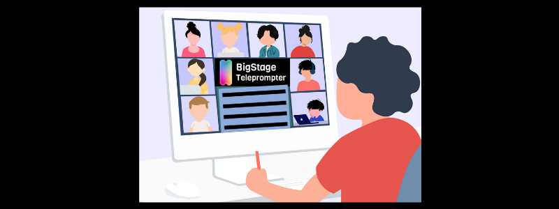 BigStage Teleprompter lets organizer package scripts and questions to ask in a free teleprompter app.