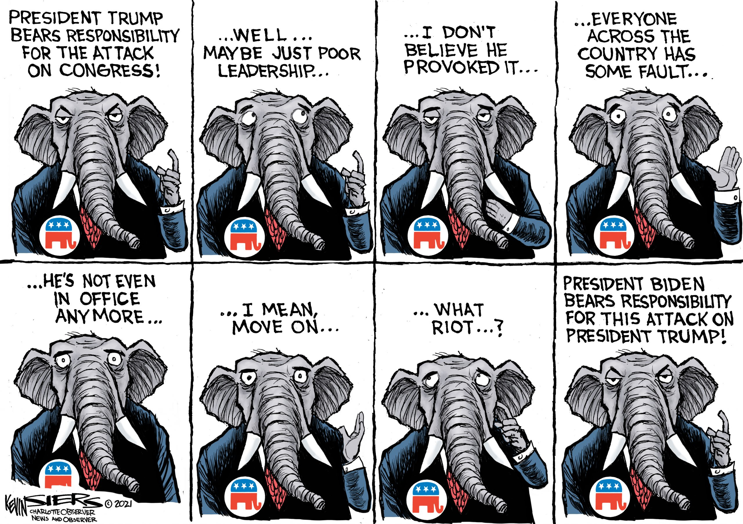 Elephants Never Remember - Kevin Siers
