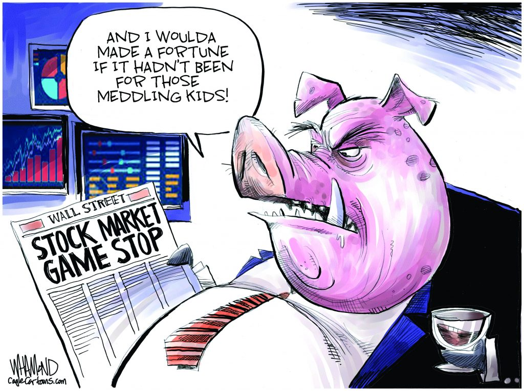 Stock Market Game Stop - Dave Whamond