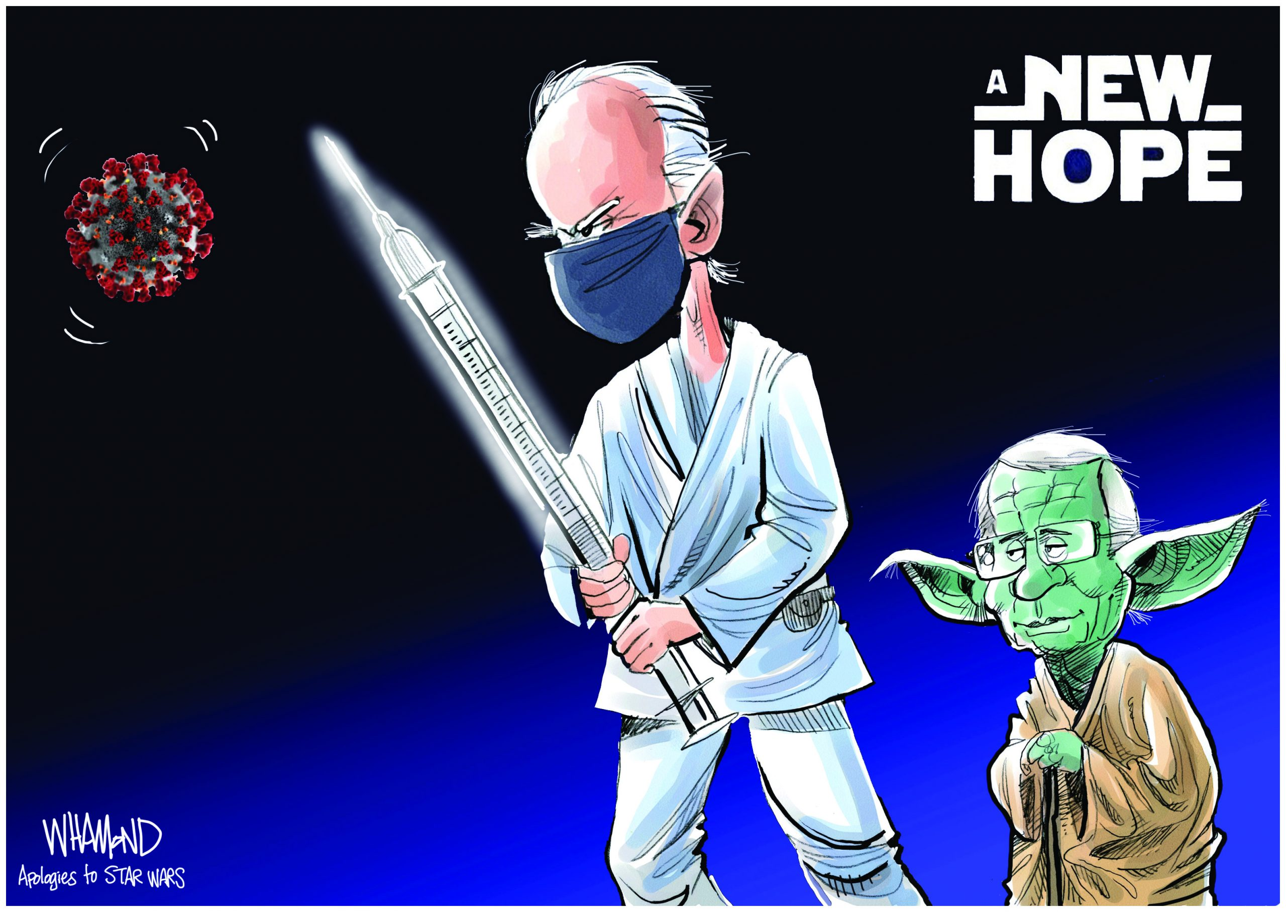 A New Hope. Dave Whamond.
