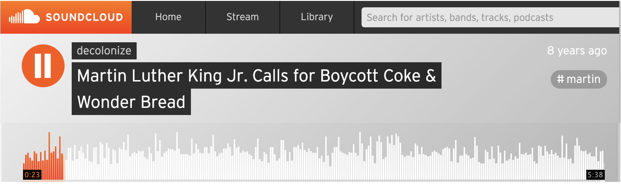 Economic boycotts uses peaceful public action to demand changes in corporate behavior.