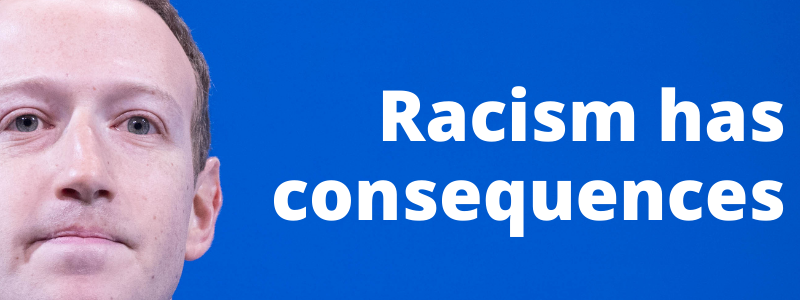 Republican, Facebook and FOX News racism have consequences