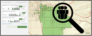 Use precision mapping to find unregistered voters