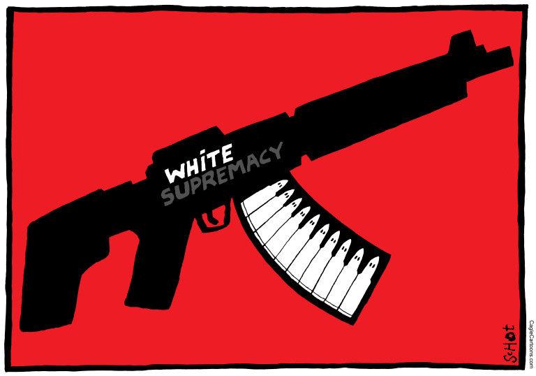 MASS SHOOTING, WHITE NATIONALISTS, WHITE SUPREMACY, KU KLUX CLAN, RACISM, HATE CRIME