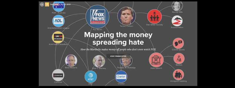 Mapping how FOX News uses public subsidies to spread hate
