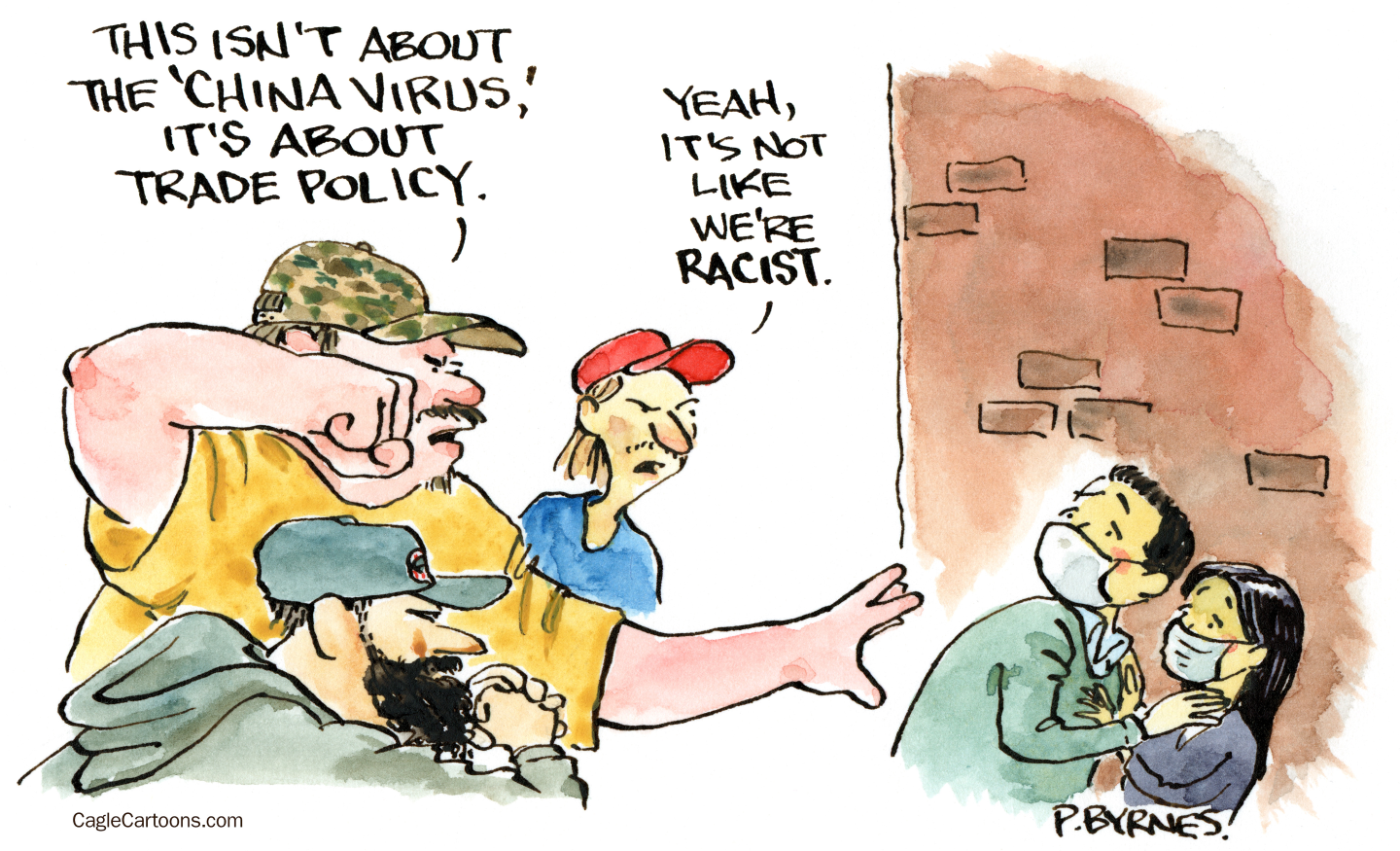 Republicans stoke Anti-Asian racism for political purposes.