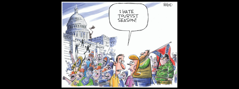 Republican coverup capitol riots: Cartoon edition