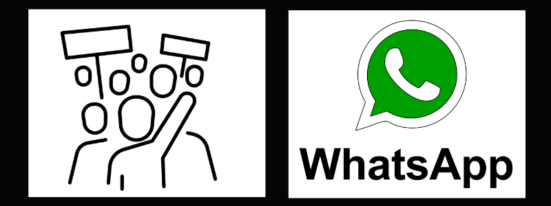 Use WhatsApp on your laptop to reach Latino voters