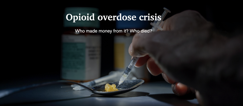 Opioid epidemic killed over 500,000 Americans. Who profited from it.