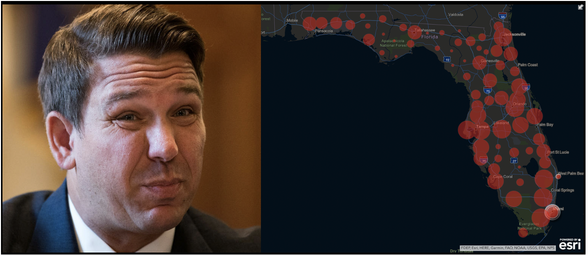 DeSantis bungles COVID response in Florida and cases spike