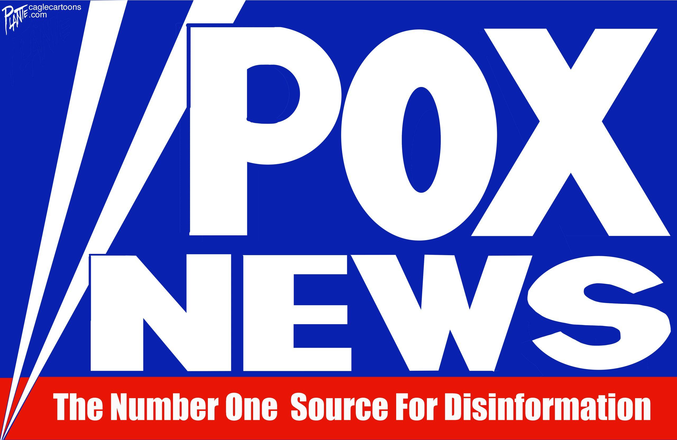 FOX News spreads COVID-19 disinformation. A pox on your house, Fox News, disinformation, pandemic, anti-vaccines, coronavirus, covid-19, delta variant, anti-vaxxer.