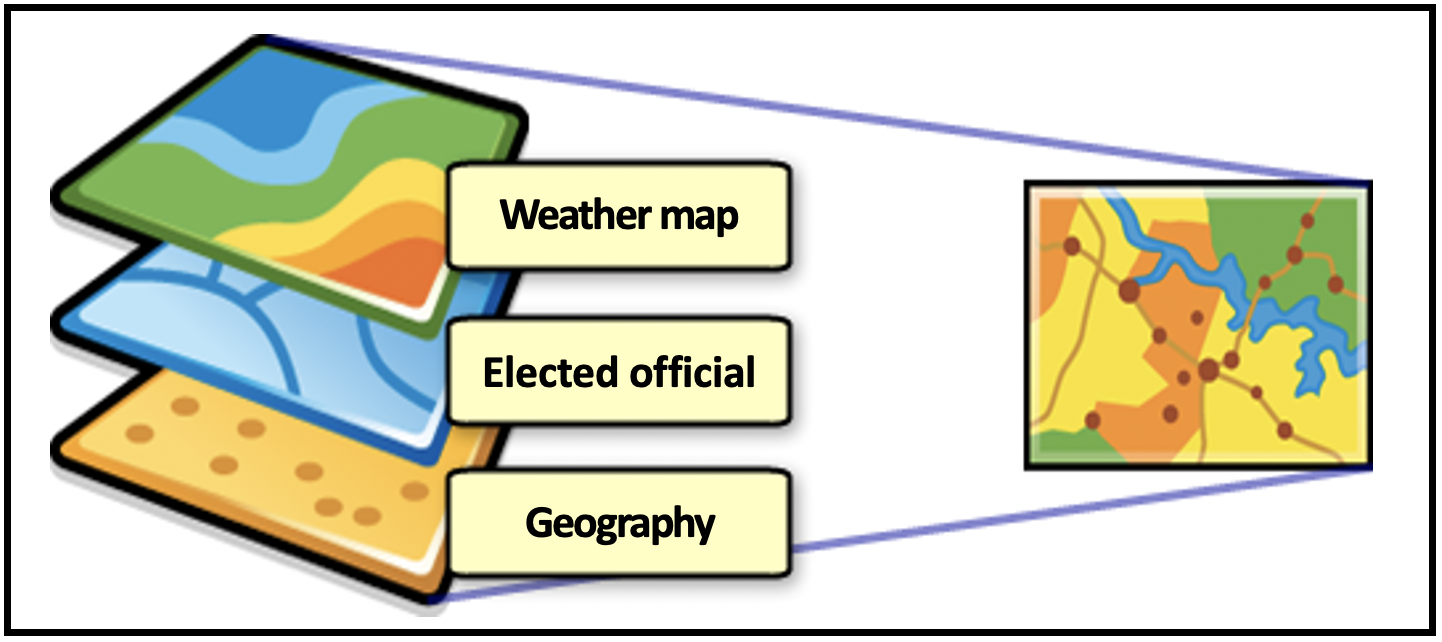 Real time weather map shows extreme weather conditions and the elected official supposed to represent that area.