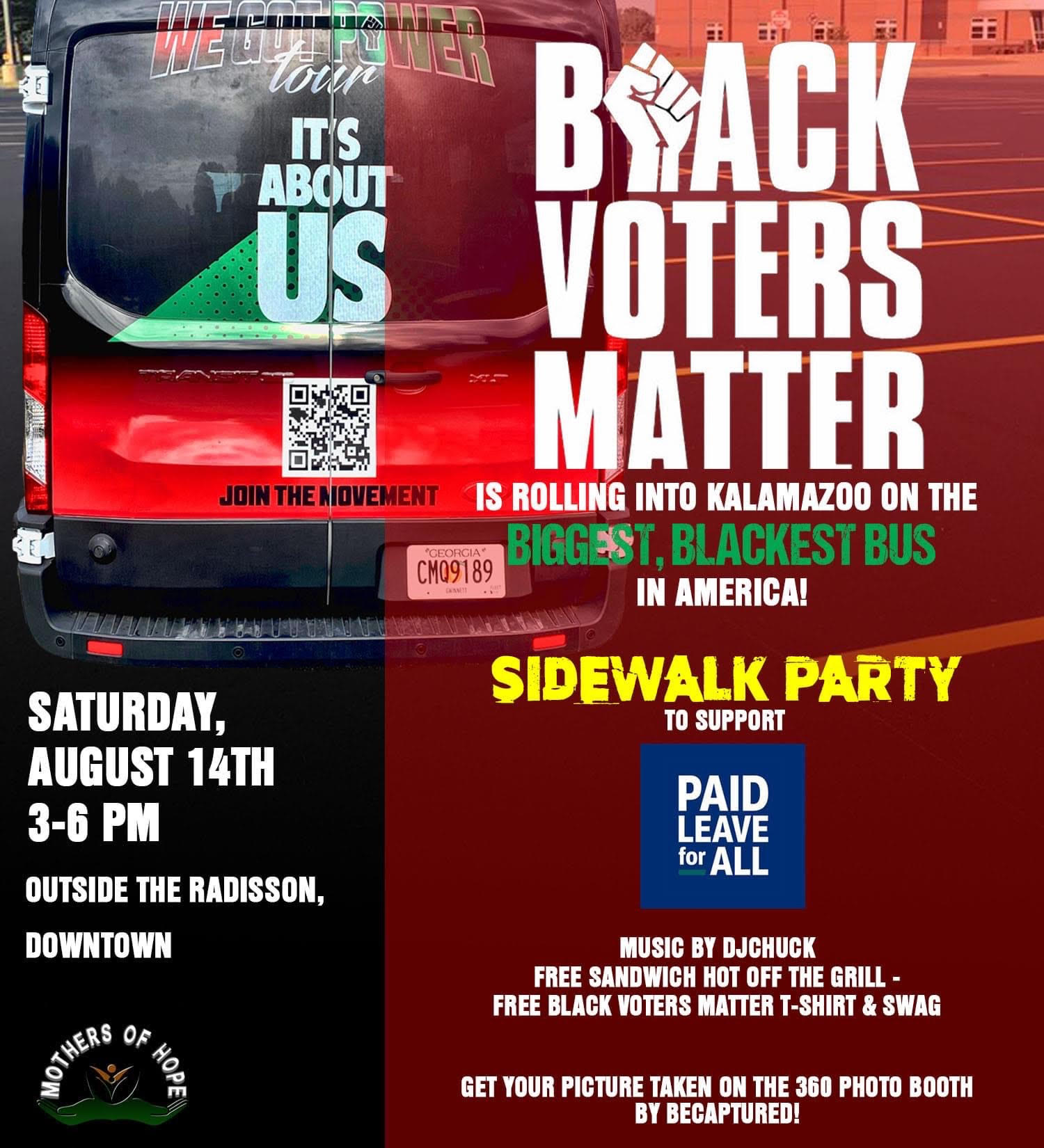 Black Voters Matter organizes local events to energize voters.
