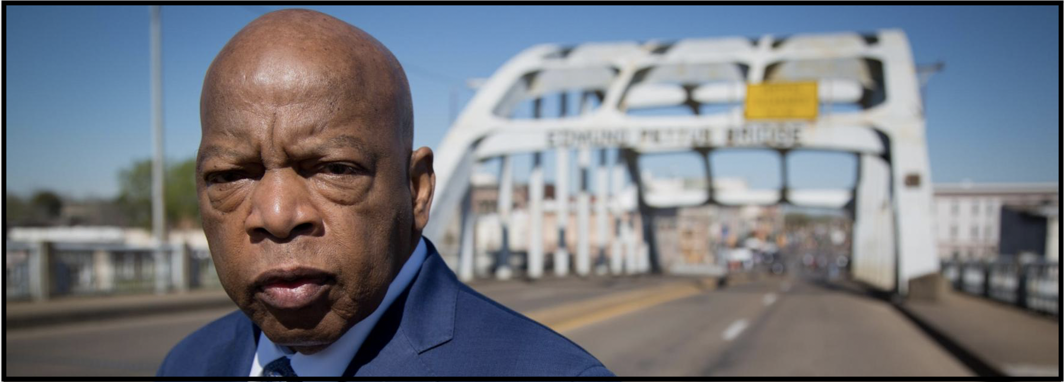 John Lewis was a proud advocate for voting rights throughout his life.