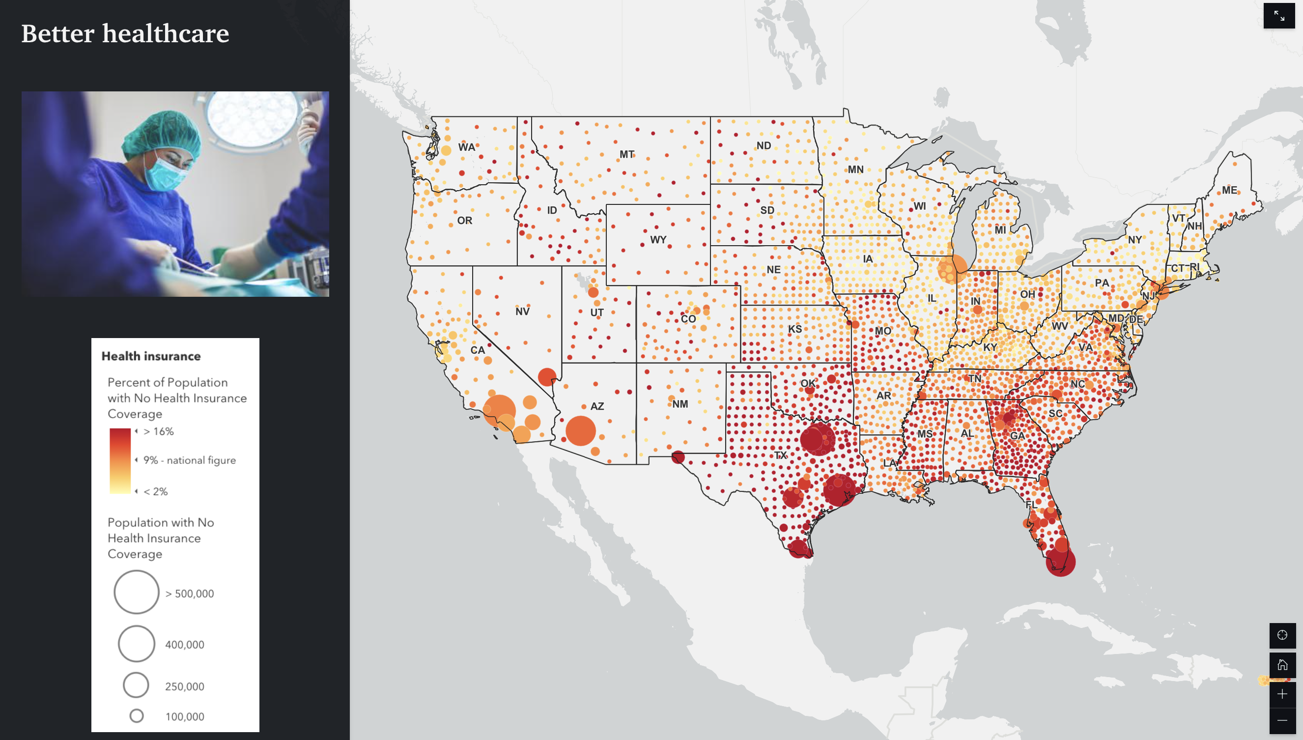 Use StoryMaps to make it easier for people to understand how they benefit.