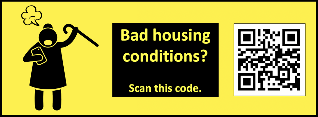 Collect grievances and organize tenants to demand better by crowdsourcing their complaints.