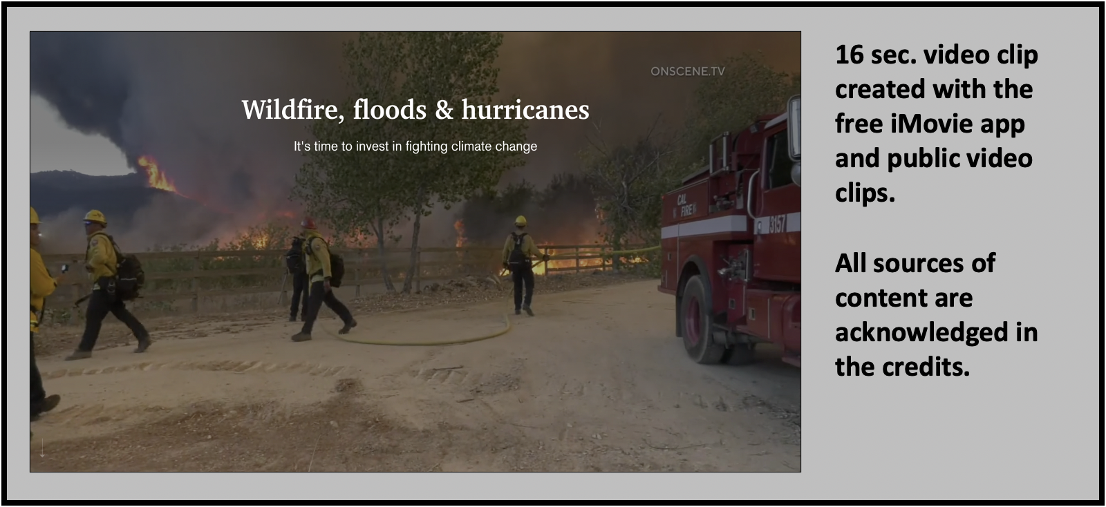 Climate change disasters kill Americans and cost trillions of dollars in damage.