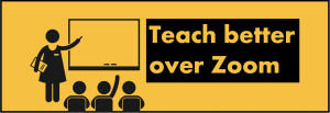Teach better on Zoom with the BigStage Teleprompter