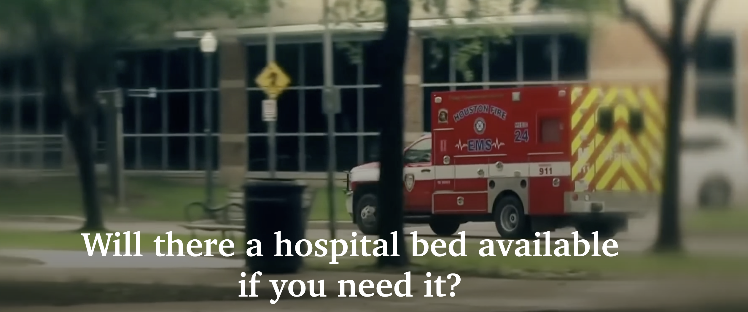 Will there be a hospital bed if you need it due to hospitals overcrowded with unvaccinated COVID patients