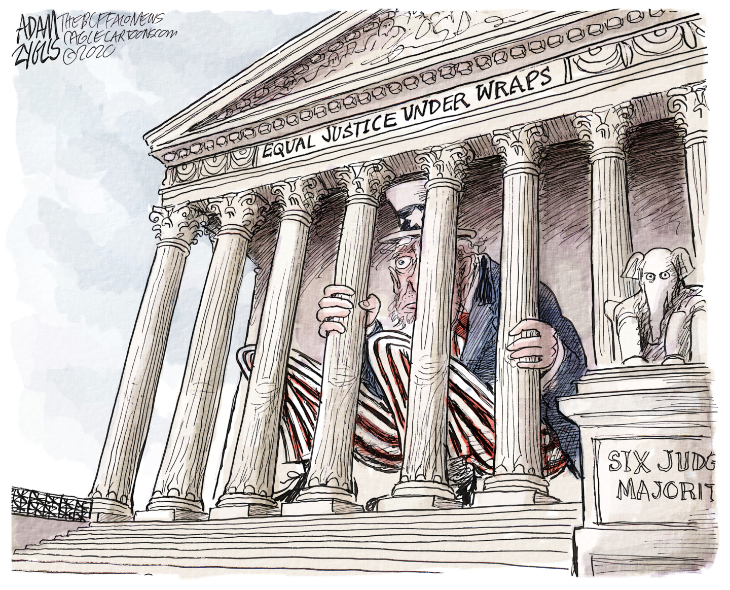 Supreme Court stacked with six conservative judges misuses the Shadow Docket.